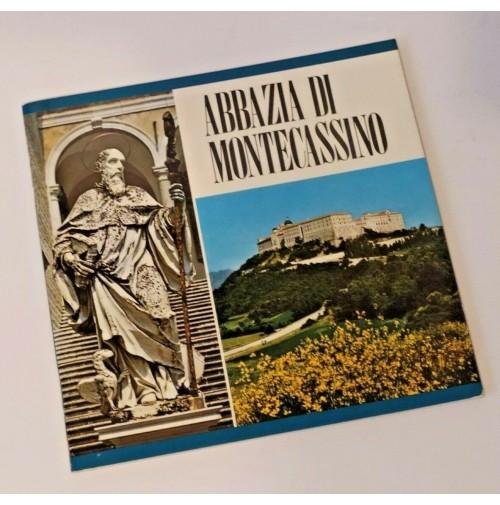 ♥ ABBAZIA DI MONTECASSINO Guida illustrata Pubblicazioni Cassinesi 1990 SM4