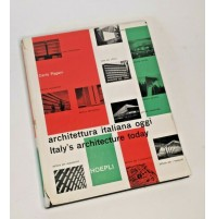 ♥ ARCHITETTURA ITALIANA OGGI Italy' Architecture Carlo Pagani Hoepli 1956 SM93