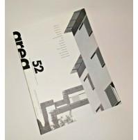 ♥ AREA 52 Rivista di Architettura Arti del Progetto 2000 Erri de Luca