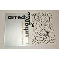♥ AREA 54 Rivista di Architettura Arti del Progetto 2001 Arredo Urbano
