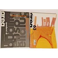 ♥ AREA 63 Rivista di Architettura e Arti del Progetto 2002 Zanuso Fontana Guyer