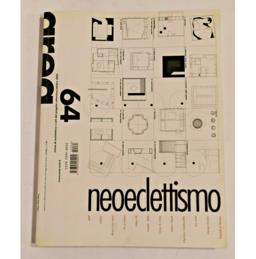 ♥ AREA 64 Rivista di Architettura Arti del Progetto 2002 Neoeclettismo Ron Arad