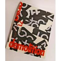 ♥ AREA 71 Rivista di Architettura e Arti del Progetto 2003 DEMOLITION