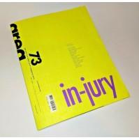 ♥ AREA 73 Rivista di Architettura Arti del Progetto 2004 In-jury
