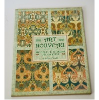 ♥ ART NOUVEAU Modelli e disegni decorativi R. Beauclair Ed. Orsa Maggiore 1988