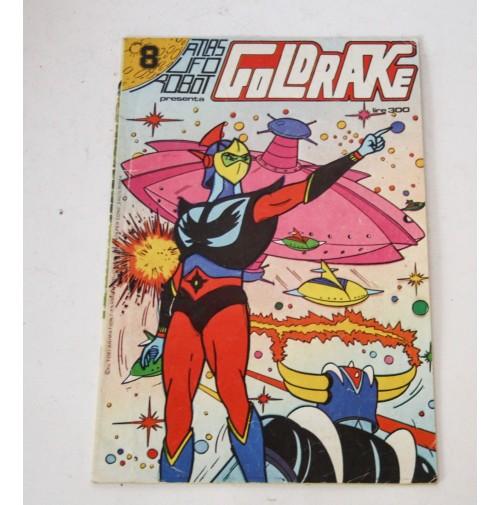 ► ATLAS UFO ROBOT GOLDRAKE N. 8 Edizioni Flash 1979