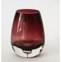 ♥ BICCHIERE IN VETRO DI MURANO VIOLA HANDMADE QUALITY TALIAN GLASS VINTAGE vaso