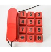 ► BIG KEYS ZIP TELEFONO VINTAGE DESIGN TELCER WEBCOR POP ART SPACE AGE PLASTIQUE