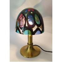 ♥ BRASS LIGHT LAMPADA VINTAGE DESIGN ANGELO BROTTO PER ESPERIA MIDCENTURY colour