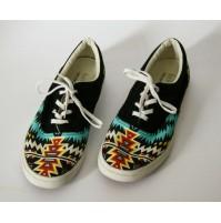 ♥ BUCKETFEET ARTIST DESIGNED MEMPHIS STYLE SCARPE SNEAKERS UOMO TG. 41 footwear