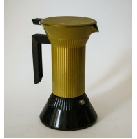 ♥ CAFFETTIERA MOKA MACH DESIGN ISAO HOSOE PER SERAFINO ZANI VINTAGE ANNI 90 MOMA