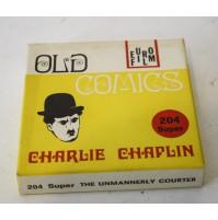 ► CHARLIE CHAPLIN IL CORTEGGIATORE INSOLVENTE B/N MUTO FILM SUPER 8 SUPER8 MM