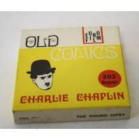 ► CHARLIE CHAPLIN LA ZINGARELLA CHARLOT B/N MUTO FILM SUPER 8 SUPER8 MM