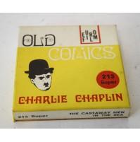 ► CHARLIE CHAPLIN NAUFRAGHI IN MARE CHARLOT B/N MUTO FILM SUPER 8 SUPER8 MM