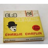 ► CHARLIE CHAPLIN PRANZO DI GALA CHARLOT B/N MUTO FILM SUPER 8 SUPER8 MM