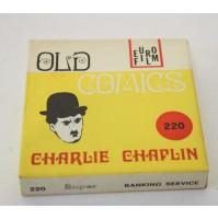 ► CHARLIE CHAPLIN SERVIZIO DI BANCA CHARLOT B/N MUTO FILM SUPER 8 SUPER8 MM
