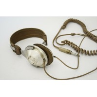 ♥ CUFFIE VINTAGE UNITRONIC AH-501 STEREO HEADPHONE TO REPAIR ANNI 70 HEADSET