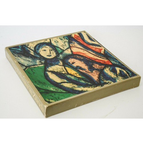 ♥ DIE CHAGALL-FENSTER IN ZURICH Vogelsanger De Roche 1971 Le vetrate di Chagall