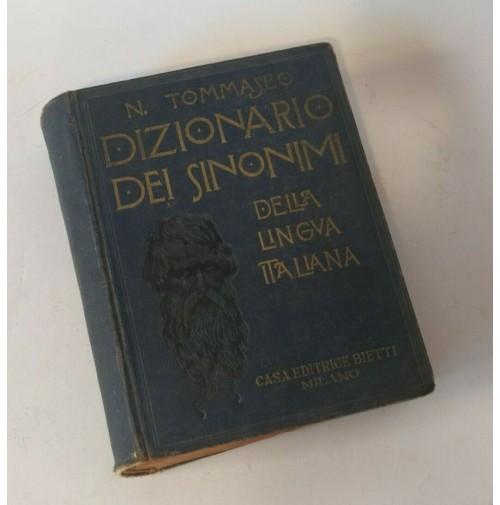♥ DIZIONARIO DEI SINONIMI DELLA LINGUA ITALIANA N Tommaseo Bietti 1935 HD18