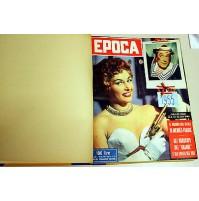♥ EPOCA RIVISTA SETTIMANALE ANNO 1955 ANNATA RILEGATI 12 NUMERI mondadori