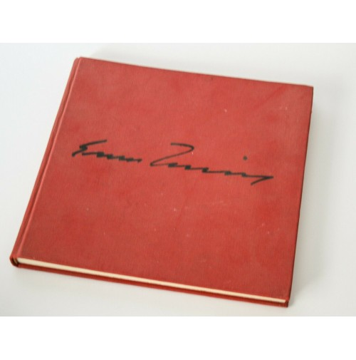 ♥ ERNESTO TRECCANI Libro Arte Galleria Pace Milano 1975 Ed. Limitata P13