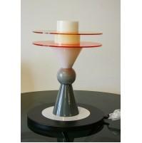 ♥ ETTORE SOTTSASS BAY DESK LAMP MEMPHIS MILAN DESIGN 1983 LAMPADA PLEXY