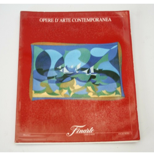 ♥ FINARTE OPERE D'ARTE CONTEMPORANEA CATALOGO ASTA 746 12 GIUGNO 1990