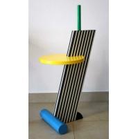 ♥ FLAMINGO SIDE TABLE DESIGN 1984 MICHELE DE LUCCHI MEMPHIS MILAN TAVOLINO