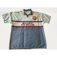 ♥ FOOTBALL SHIRT MANCHESTER UNITED 1995 1996 AWAY UMBRO VINTAGE TG. XL