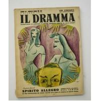 ♥ IL DRAMMA ANNO 22 N.14 NUOVA SERIE 1 GIUGNO 1946  RIVISTA TEATRO QUINDICINALE