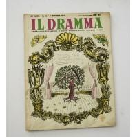 ♥ IL DRAMMA ANNO 23 NUOVA SERIE N.46 1 OTTOBRE 1947 RIVISTA TEATRO QUINDICINALE
