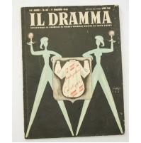 ♥ IL DRAMMA ANNO 24 N.60 NUOVA SERIE 1 MAGGIO 1948  RIVISTA TEATRO QUINDICINALE