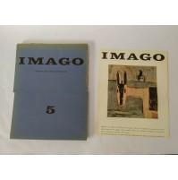 ♥ IMAGO 5 RIVISTA D'ARTE Bassoli Fotoincisioni NOv 1963 Fiume Tabet NON COMPLETO