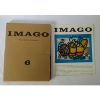 ♥ IMAGO 6 RIVISTA D'ARTE Bassoli Fotoincisioni Dic 1964 Bonfante NON COMPLETO