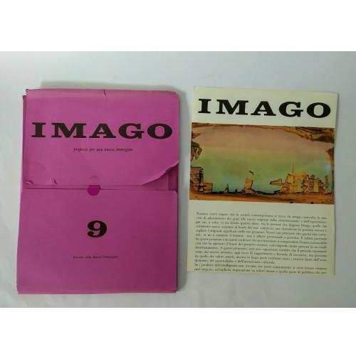 ♥ IMAGO 9 RIVISTA D'ARTE Bassoli Fotoincisioni Dic 1966 Carrieri NON COMPLETO