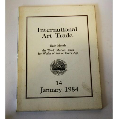 ♥ INTERNATIONAL ART TRADE 14 JANUARY 1984 Risultati d'asta arte Christie's