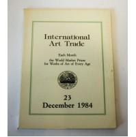 ♥ INTERNATIONAL ART TRADE 23 December 1984 Risultati d'asta arte Christie's