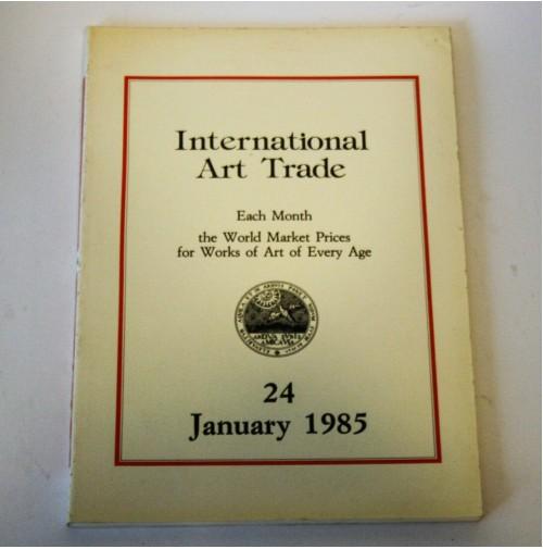 ♥ INTERNATIONAL ART TRADE 24 January 1985 Risultati d'asta arte Sotheby