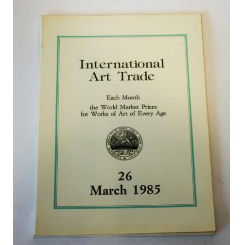♥ INTERNATIONAL ART TRADE 26 March 1985 Risultati d'asta arte Christie's Sotheby