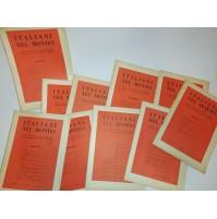♥ ITALIANI NEL MONDO RIVISTA QUINDICINALE LOTTO 10 NUMERI 1961 VINTAGE