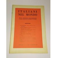 ♥ ITALIANI NEL MONDO RIVISTA QUINDICINALE N. 2 25 GENNAIO 1962 Emigrazione