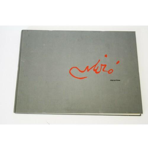 ♥ JOAN MIRò ELEGIE PER ROMA LIBRO ARTE 1981 50 TAVOLE EDIZIONE LIMITED 500 COPIE