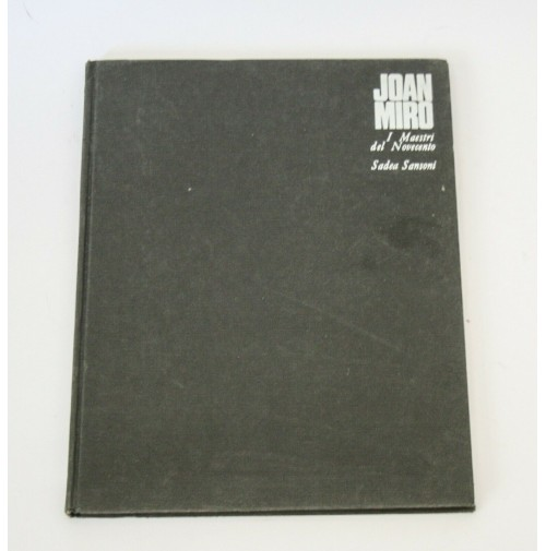 ♥ JOAN MIRO' I Maestri del Novecento Hans L Jaffè Sadea Sansoni Mario Bucci 1968