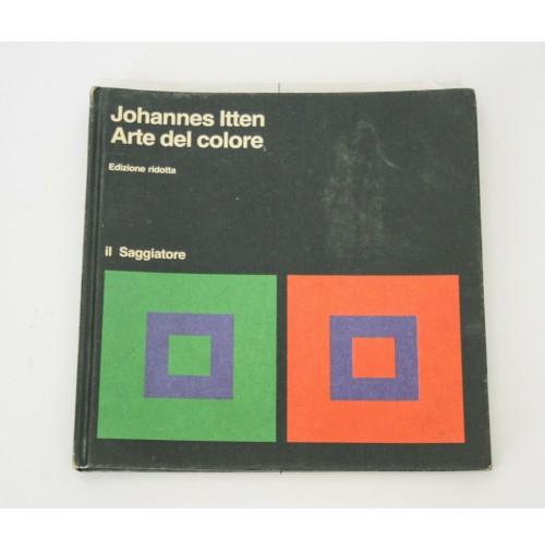 ♥ JOHANNES ITTEN ARTE DEL COLORE Edizione Ridotta Il Saggiatore 1982 L06