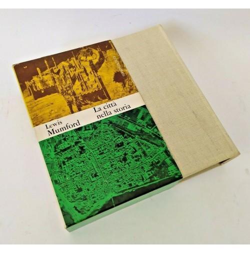 ♥ LA CITTà NELLA STORIA Lewis Mumford 1967 Etas Kompass T95