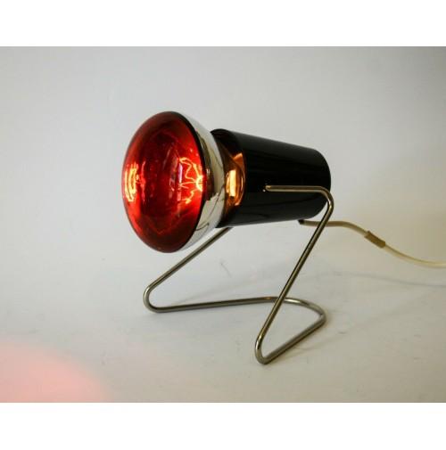 ♥ LAMPADA AD INFRAROSSI DICO VINTAGE DESIGN ANNI 70 SPACE AGE infraphil 250 w