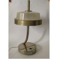 ♥ LAMPADA DA SCRIVANIA VINTAGE SPACE AGE DESIGN STUDIO BBPR RO 3 LUCI DESK LIGHT