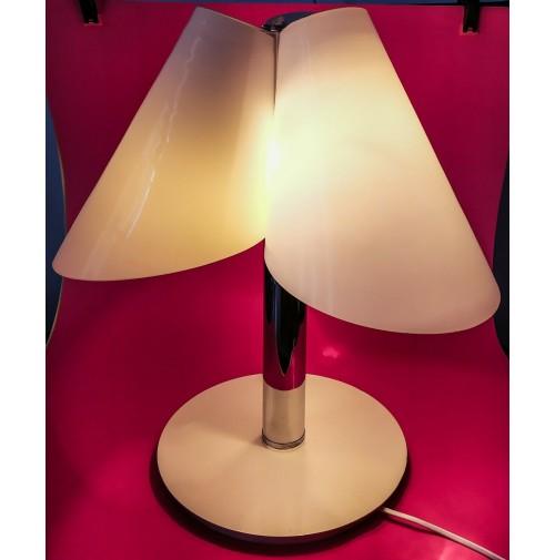 Lampada Da Tavolo 3 Luci Vintage Design Federico De Majo Vetro Di Murano 1988