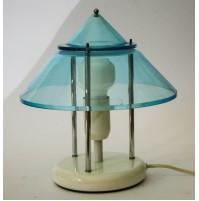 ♥ LAMPADA DA TAVOLO IN PLEXIGLASS VINTAGE SPACE AGE DESIGN ANNI 80 TOTEM LIGHT