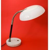 ♥ LAMPADA DA TAVOLO STILUX MILANO VINTAGE DESIGN ANNI 60 70 BIANCA MIDCENTURY
